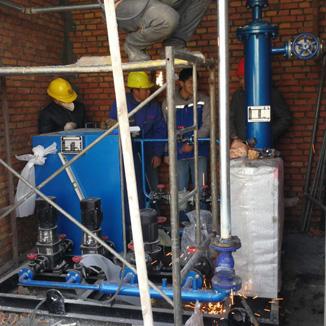 山东德浩化学有限公司供暖换热机组