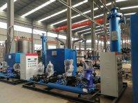 河北芳华科技公司供暖换热机组项目
